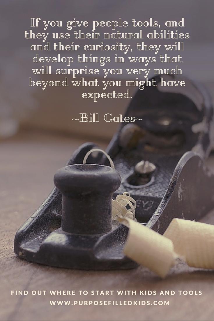 bill gates tools