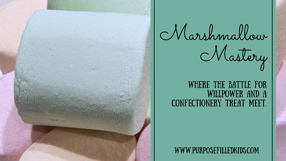 Marshmallow Mastery and the Battle for Willpower
